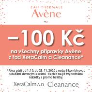 Podzimní nabídka značky Avene